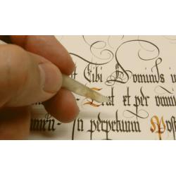 Caligrafía y paleografía: espacios históricos para su estudio y práctica